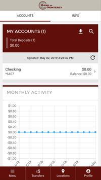 First National Bank Monterey screenshot 1