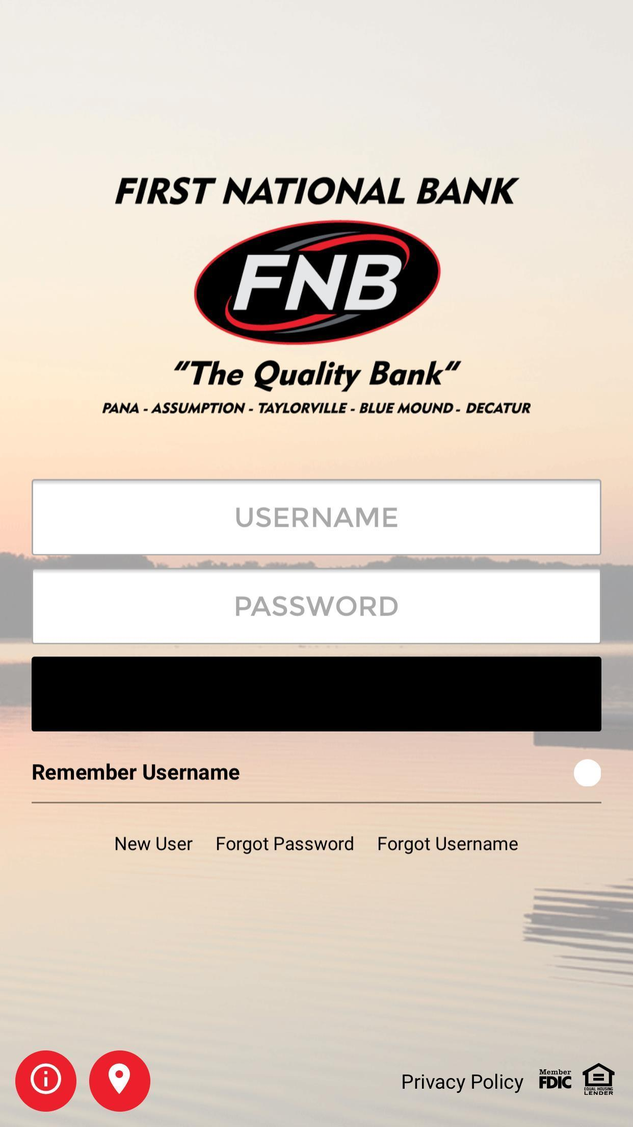 First National Bank of Pana for Android - APK Download