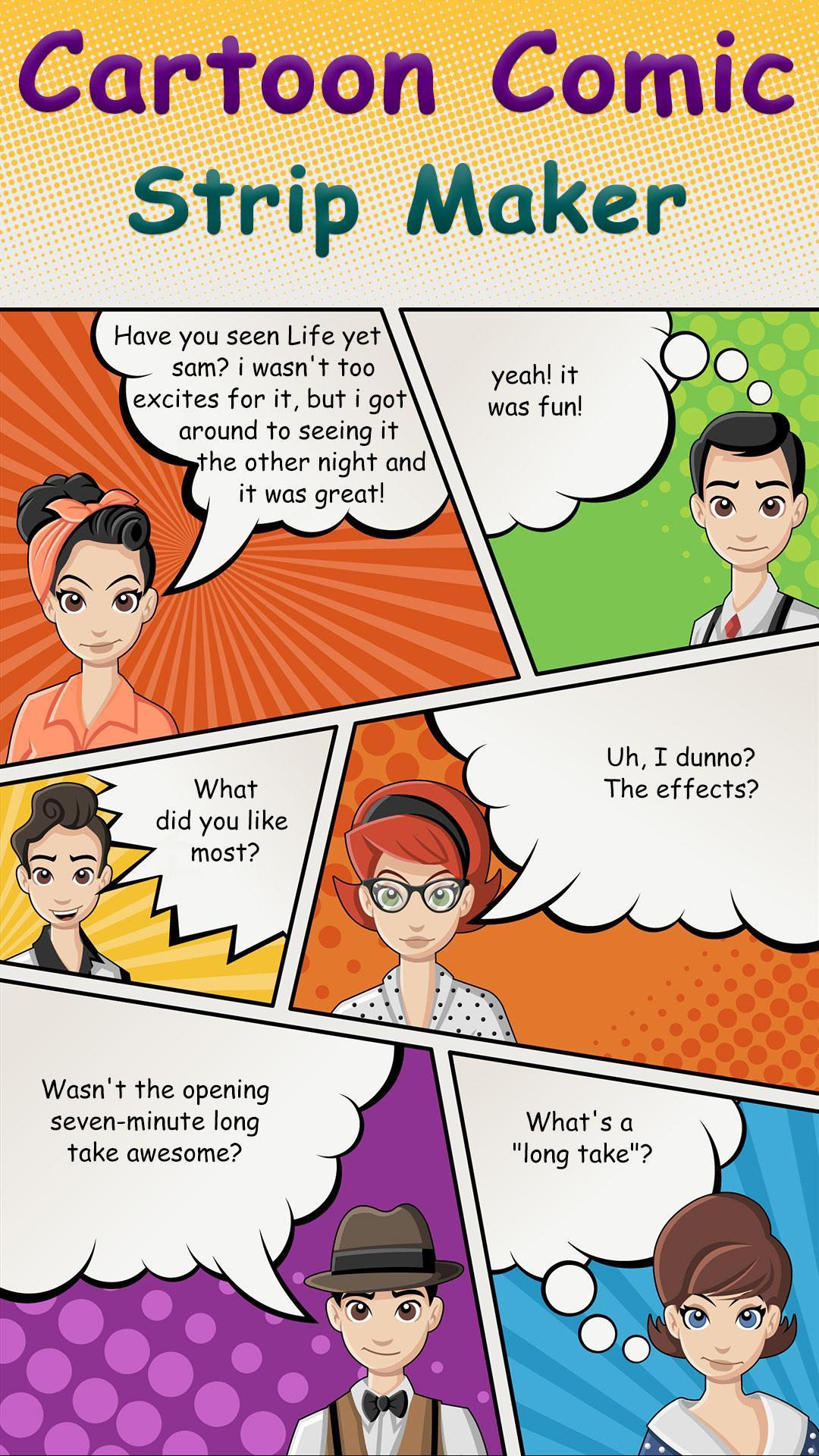 Cartoon Comic Strip Maker For Android Apk Download