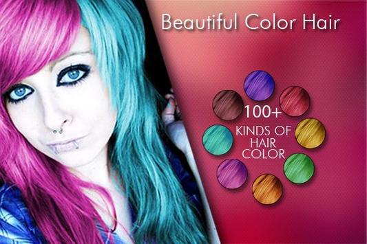Change Hair And Eye Color screenshot 5