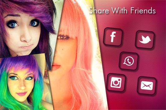 Change Hair And Eye Color screenshot 6