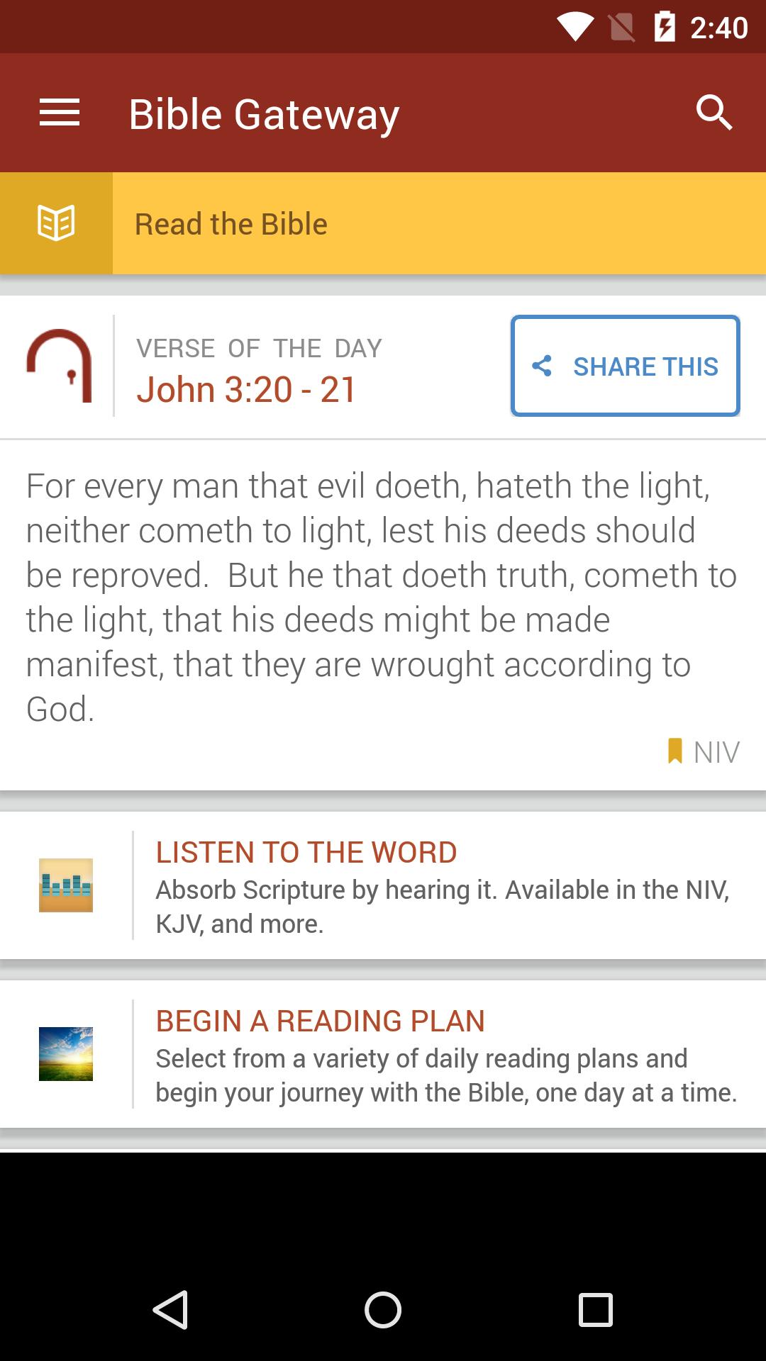 Bible Gateway for Android - APK Download