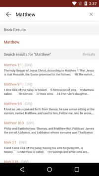Bible Gateway screenshot 2