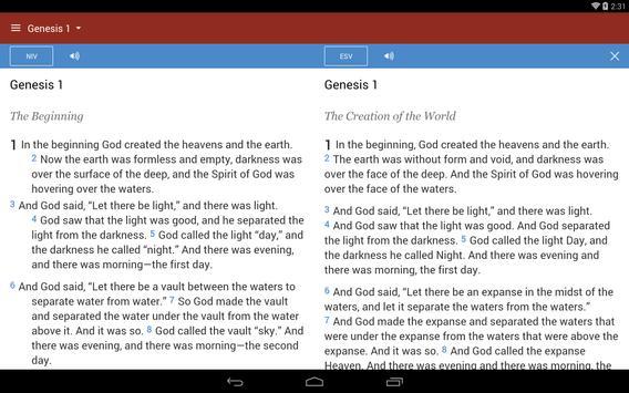 Bible Gateway screenshot 5