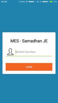 CMS - MES Samadhan JE screenshot 1