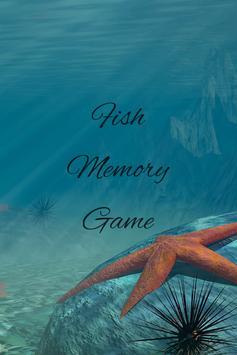 Fish Memory Matching Game poster