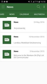 Wenkem Communicator screenshot 1