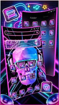 DJ Skull  Rock Music Theme poster