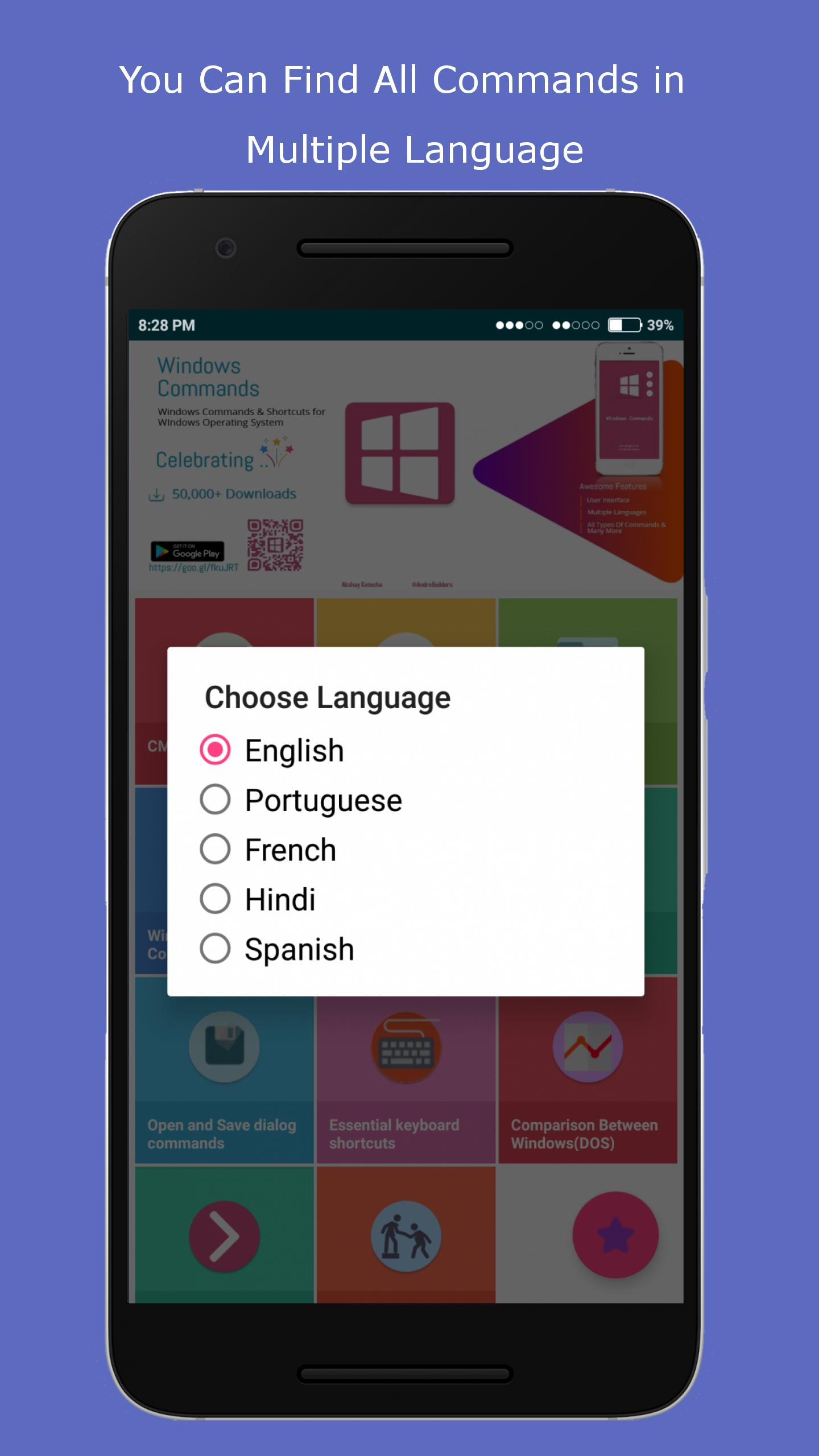 Commands Guide & Shortcuts(CMD Commands) for Android - APK