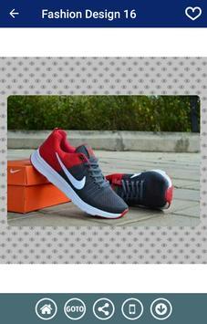Men Sneakers Designs screenshot 1