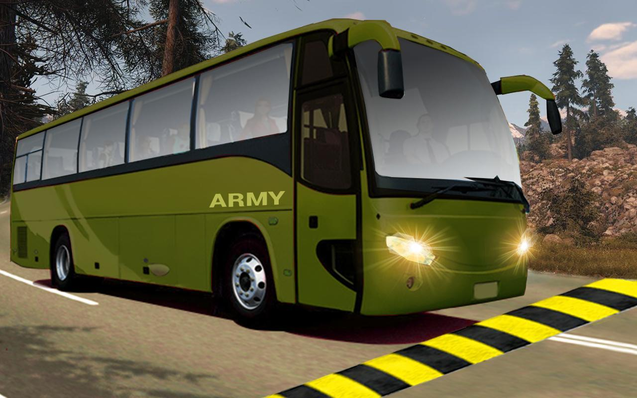 indian army bus driving: military truck mission for Android