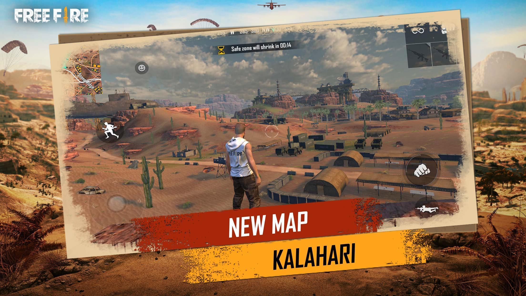 Garena Free Fire: Kalahari screenshot 1