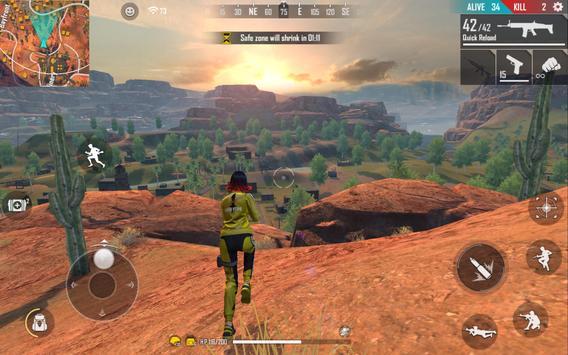 Garena Free Fire:  Kalahari capture d'écran 11