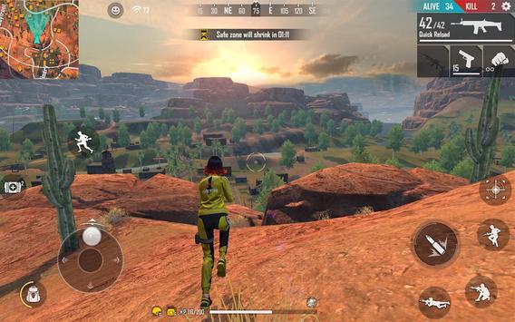 Garena Free Fire:  Kalahari capture d'écran 17