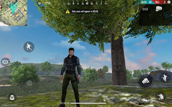 Garena Free Fire: वर्ल्ड सीरीज स्क्रीनशॉट 7