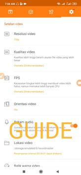 Duu Recorder - Screen Recorder For Android Guide poster
