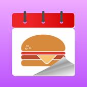 Food Platform 3D icon