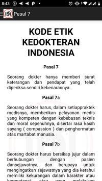 Kode Etik Kedokteran Indonesia screenshot 1