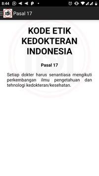 Kode Etik Kedokteran Indonesia screenshot 2