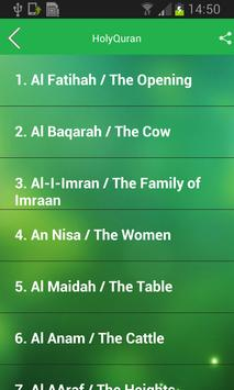 Holy Quran (Free) screenshot 7