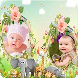 Kids Dual Photo Frames