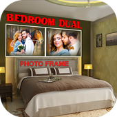 Bedroom Dual Photo Frame icon