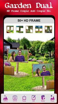Garden Dual Photo Frame poster