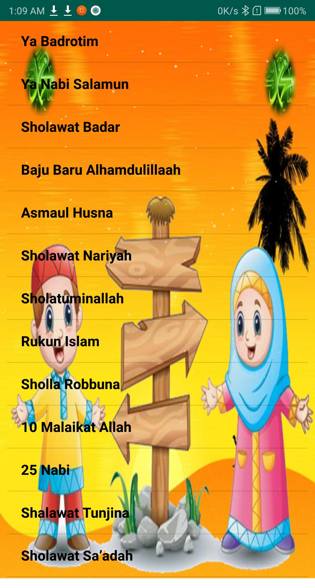 Kids songs Sholawat for Android   APK Download