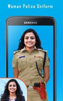 Woman Police Uniform poster