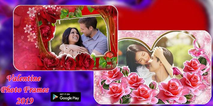 Valentine's Day Photo Frames 2020 poster