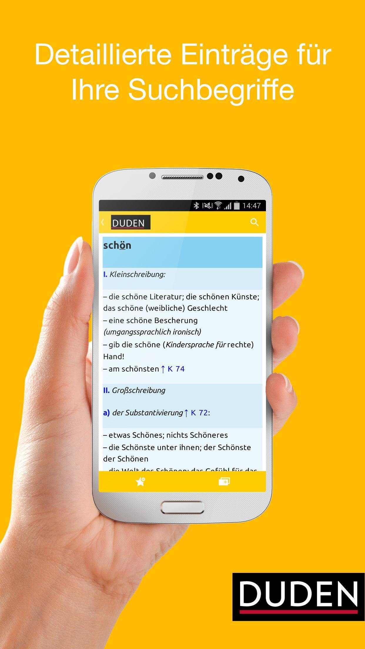 Duden Wörterbücher für Android   APK herunterladen