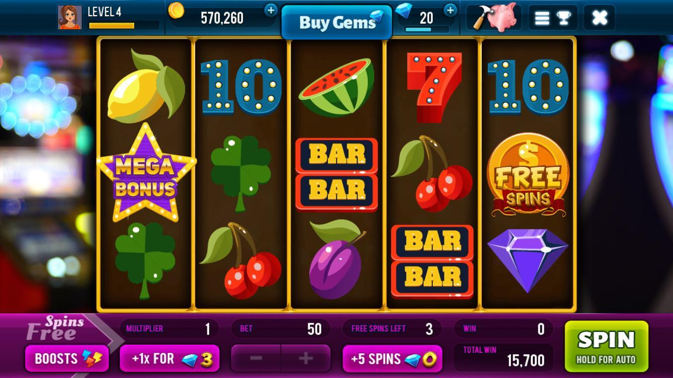 Lucky Spin Free Slots Game With Huge Rewards For Android Apk