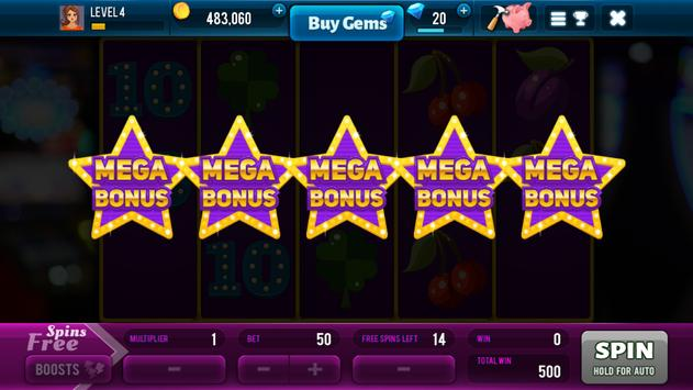 Lucky Spin - Free Slots Game with Huge Rewards syot layar 2