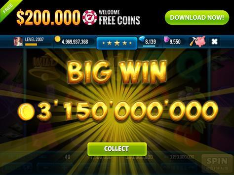 3 Pink Jackpot Diamonds Slots screenshot 9