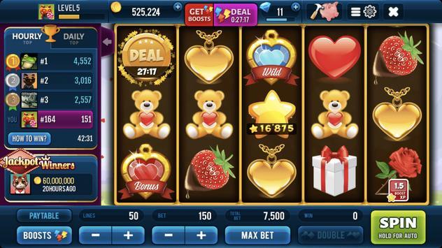 Romantic Spin Slots screenshot 7