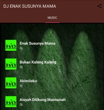 Dj Enak Susunya Mama Mama Mp3 Offline screenshot 1