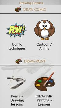 Learn to draw Comics poster