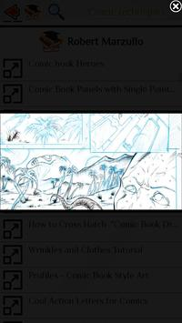 Learn to draw Comics screenshot 2