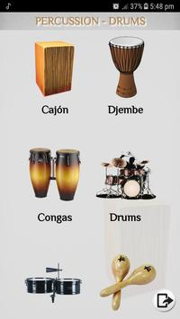 Learn Percussion - Drums poster