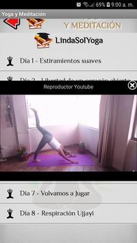 Yoga captura de pantalla 4