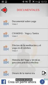 Yoga captura de pantalla 7