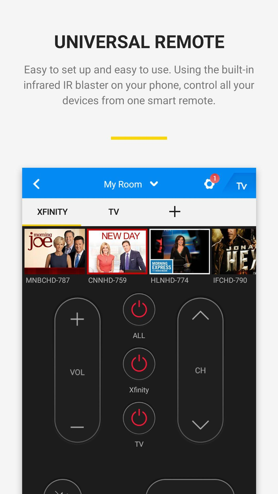 Mi remote live tv apk