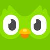 Leer Engels met Duolingo-icoon