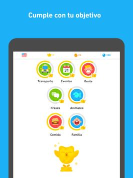 Duolingo captura de pantalla 9