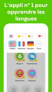 Duolingo capture d'écran 2