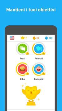 4 Schermata Impara l'inglese con Duolingo