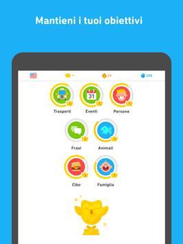 9 Schermata Impara l'inglese con Duolingo