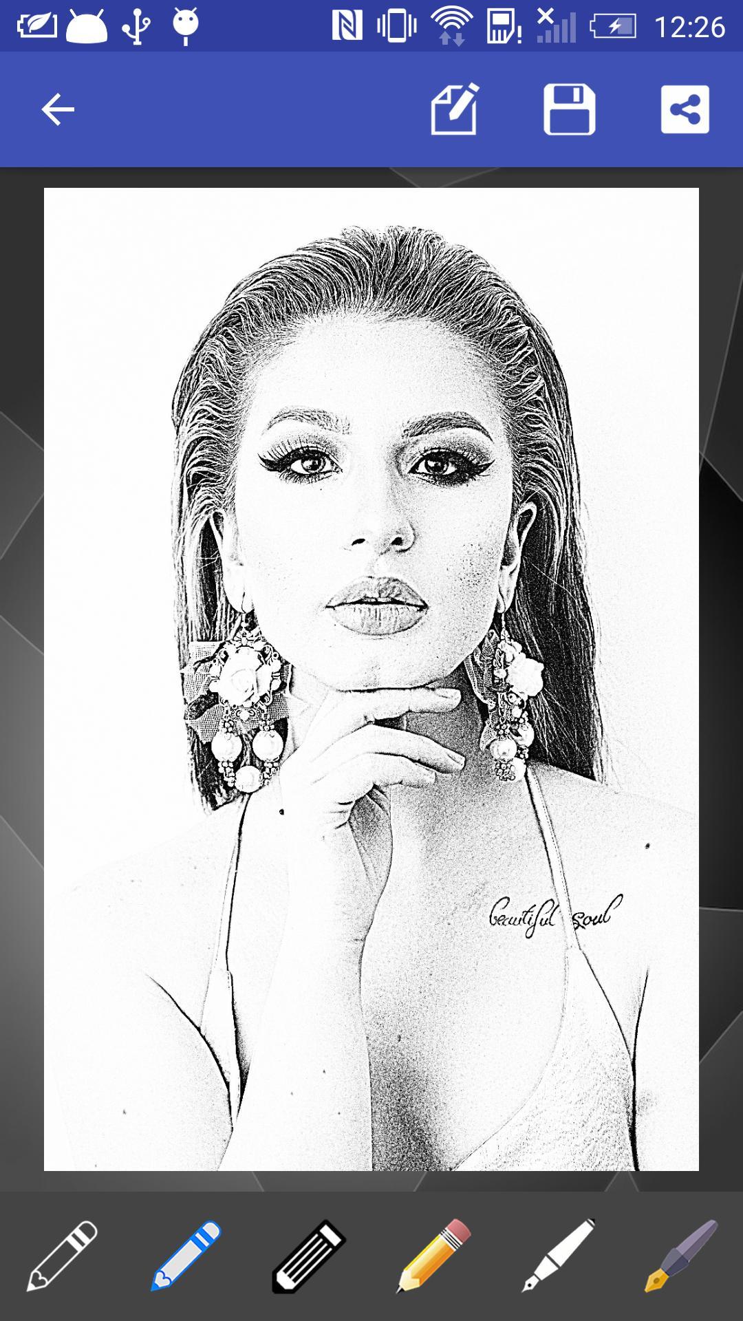 Sketsa Potret For Android APK Download