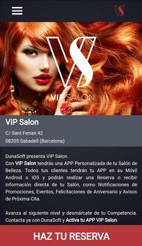 VIP Salon captura de pantalla 2