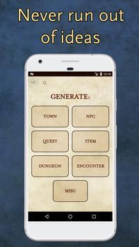 RPG Generator Poster